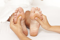 Fußreflexzonenmassage, Fußmassage, Fußreflexzonen